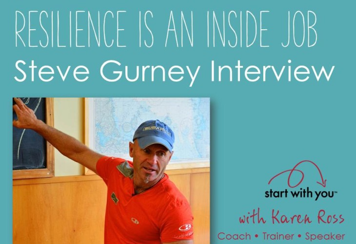Steve Gurney on Resilience with Karen Ross