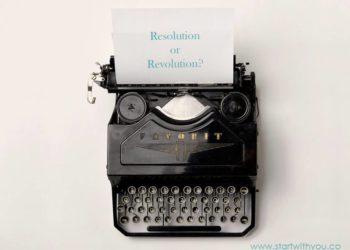 Ditching Resolutions by Karen Ross