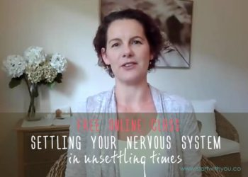 Settling Your Nervous System with Karen Ross at Start With You
