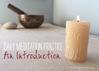 Daily meditation practice with Karen Ross