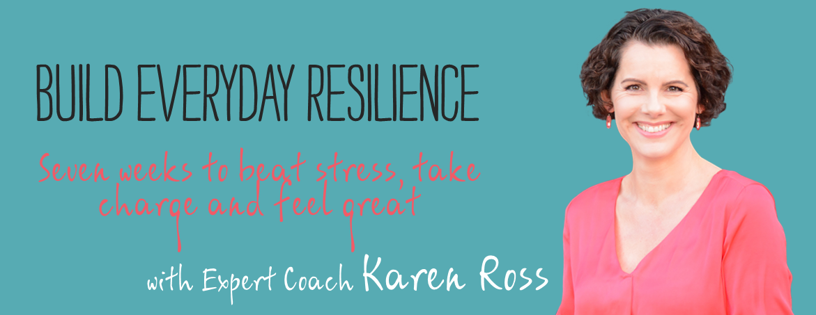Online Resilience Series with Karen Ross - stress management training